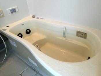 最近のお風呂掃除~&うっわ!浴槽に青い線がついてるぅ~!!!_e0123286_17442299.jpg