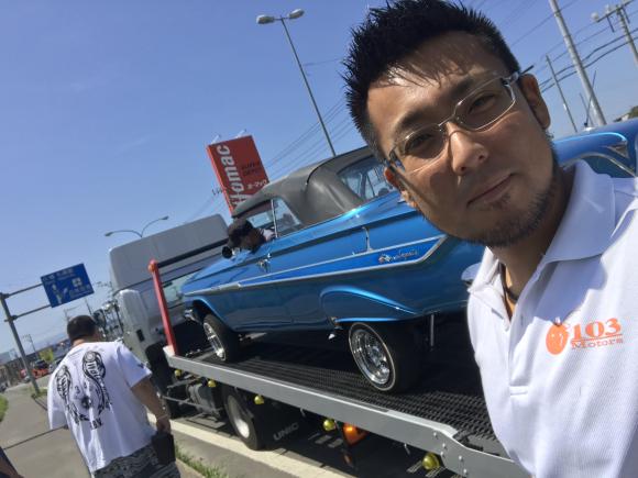 7月26日(木)TOMMYBASE 店長ブログ☆ 61インパラ整備入庫 ☆輸入車 アメ車 レクサス WALDの事ならトミーベースまで☆_b0127002_23593858.jpg