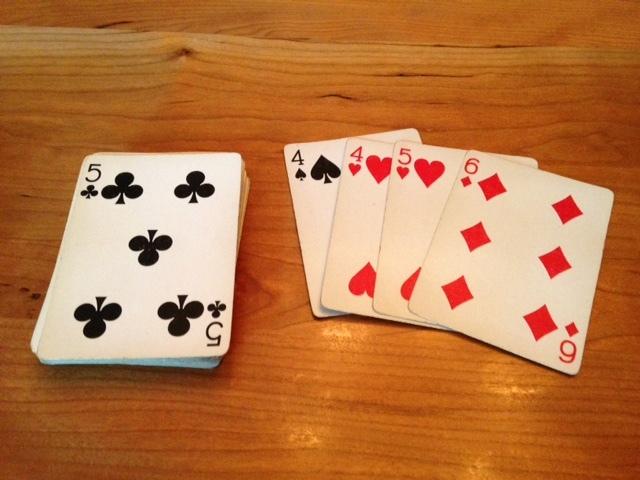 カードゲームとディナー_a0331910_13113957.jpg