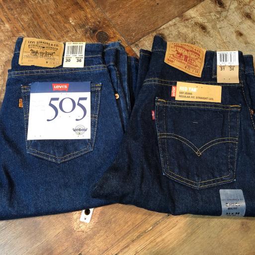 本日入荷!90s~デッドストック リーバイス505 jeans!_c0144020_15215313.jpg