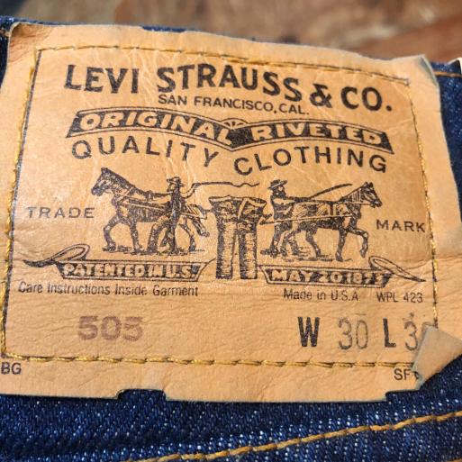 本日入荷!90s~デッドストック リーバイス505 jeans!_c0144020_15215684.jpg