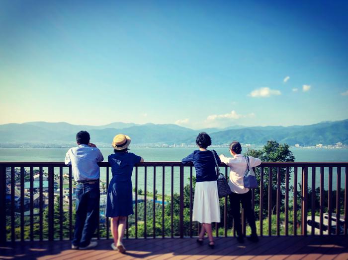 中央自動車道 諏訪湖SA(上り) / iPhone 8_c0334533_09100050.jpg