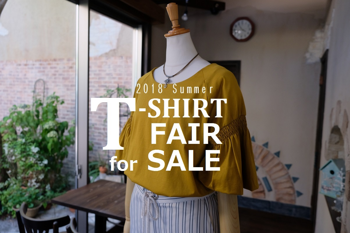 """2018 Summer T-Shirtフェア for SALE!...7/26thu\""_d0153941_10374535.jpg"