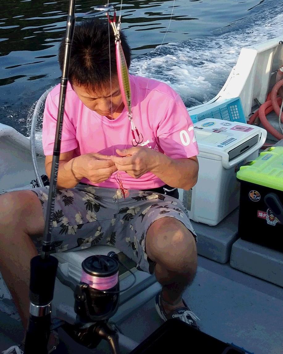スーパーライトジギング釣行❕❕_e0212944_731824.jpg