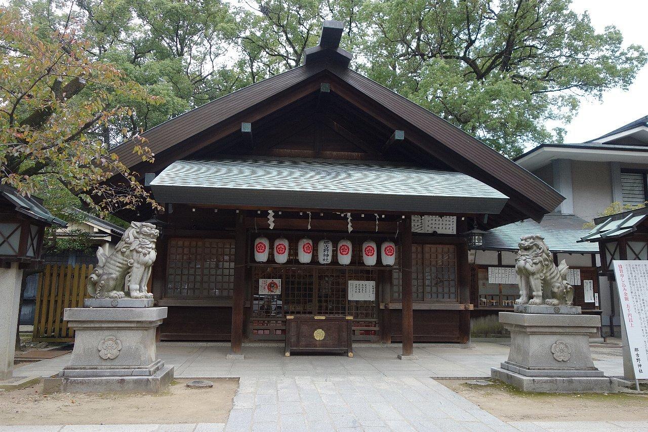 名古屋の那古野神社_c0112559_08222472.jpg
