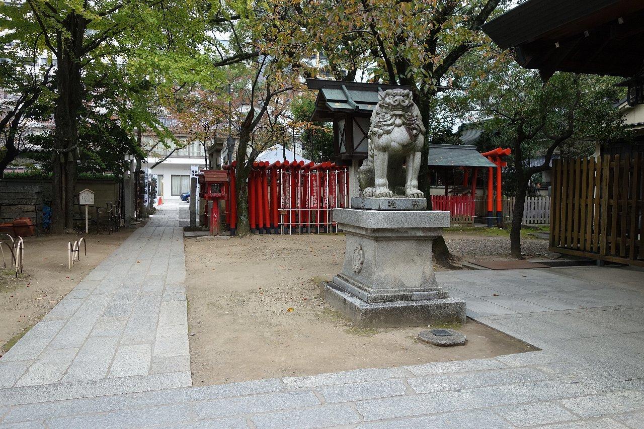 名古屋の那古野神社_c0112559_08233336.jpg
