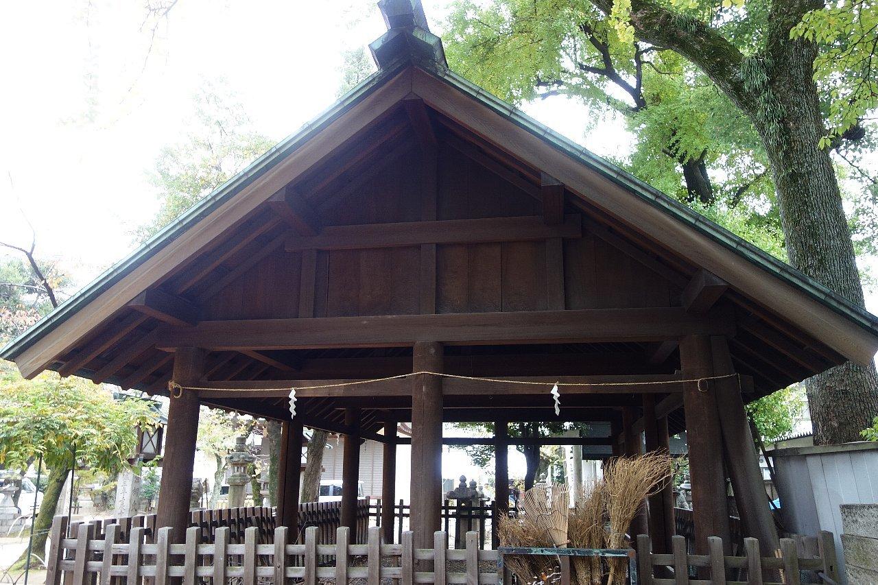名古屋の那古野神社_c0112559_08244611.jpg