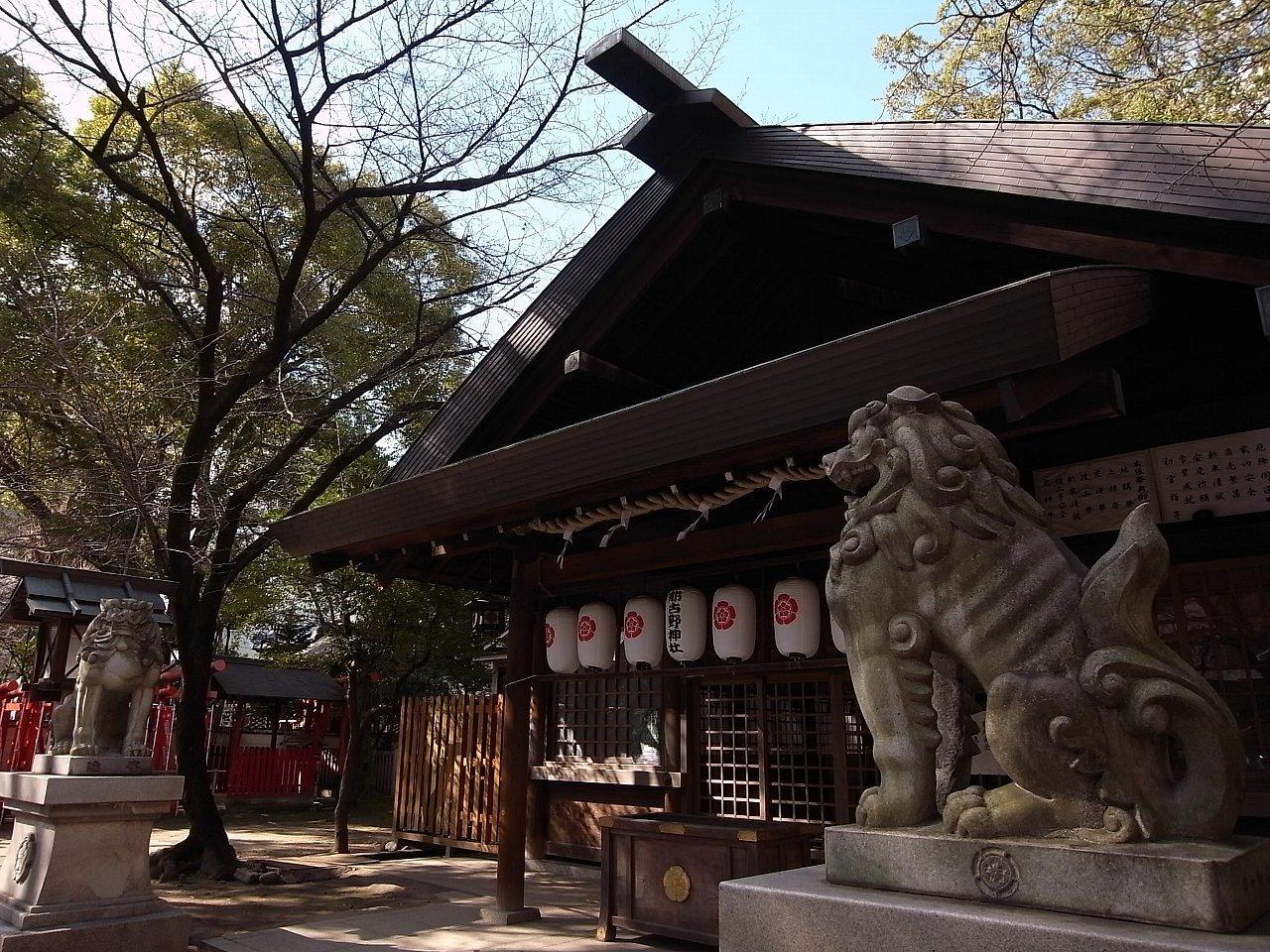 名古屋の那古野神社_c0112559_08252694.jpg
