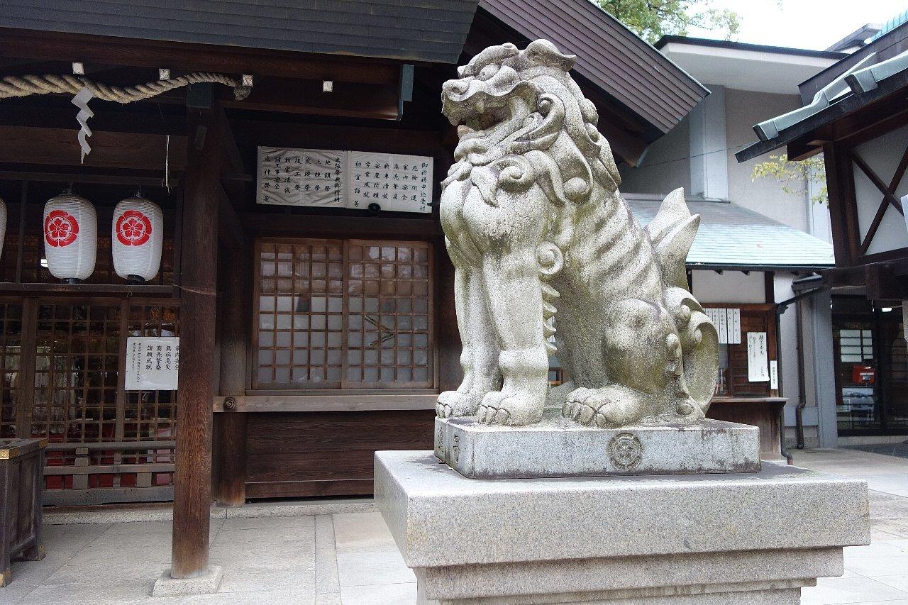 名古屋の那古野神社_c0112559_08264952.jpg