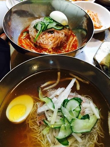 冷麺は「水冷麺?」「ピビン麺?」_b0060363_15322742.jpg