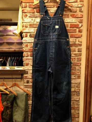 "Early 1960s "" BIG MAC - UNION MADE - \"" VINTAGE - LOW BACK style - DENIM OVER ALL ._d0172088_15223251.jpg"