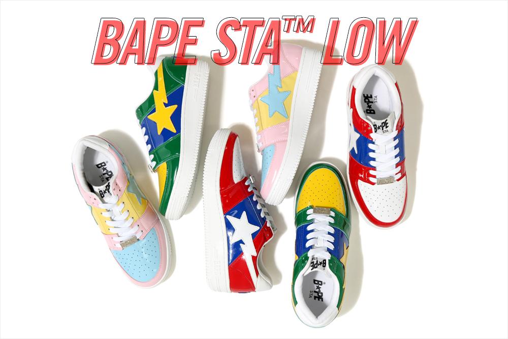 BAPE STA™ LOW_a0174495_16292826.jpg