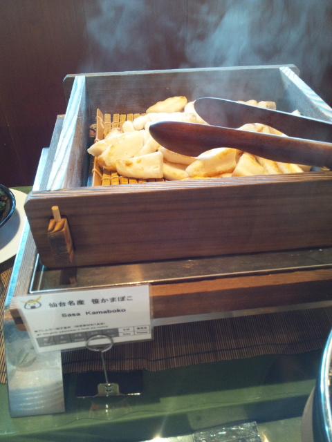 三井ガーデンホテル仙台 朝食ブッフェ_f0076001_21541138.jpg