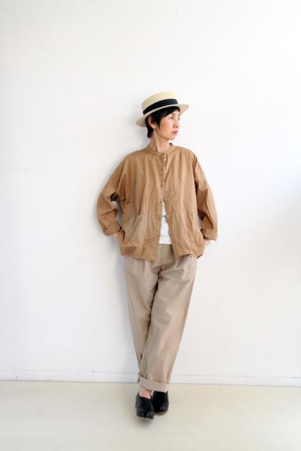 ノーカラー切替ポケットシャツ_f0215708_14262160.jpg
