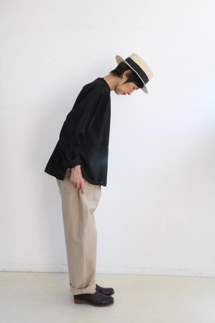 ノーカラー切替ポケットシャツ_f0215708_14262870.jpg