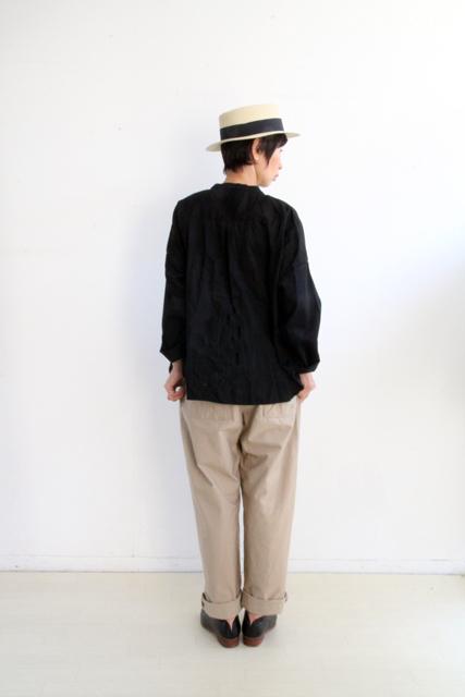 ノーカラー切替ポケットシャツ_f0215708_14263048.jpg