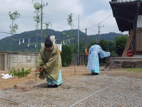 「つくばの山を望む家」地鎮祭_a0059217_13185549.jpg