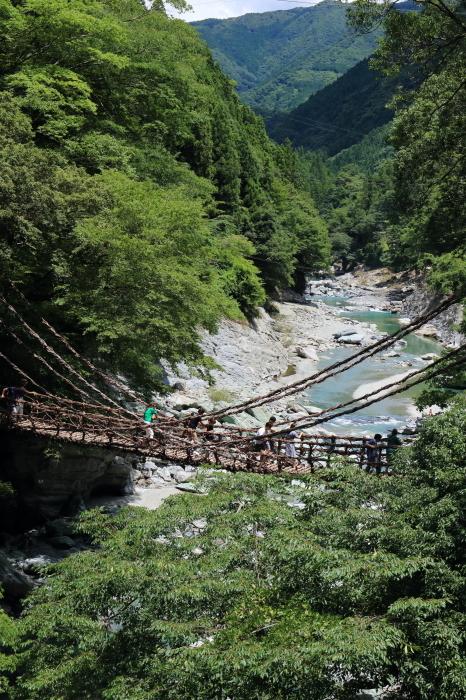 【祖谷のかずら橋】四国旅行 - 2 -_f0348831_16280496.jpg