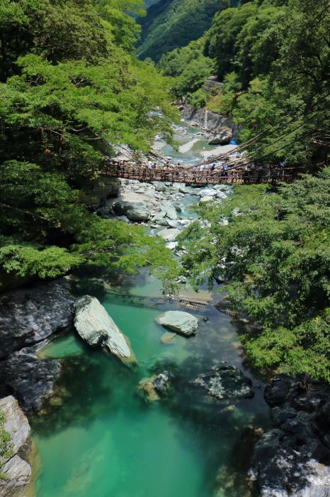 【祖谷のかずら橋】四国旅行 - 2 -_f0348831_16282619.jpg