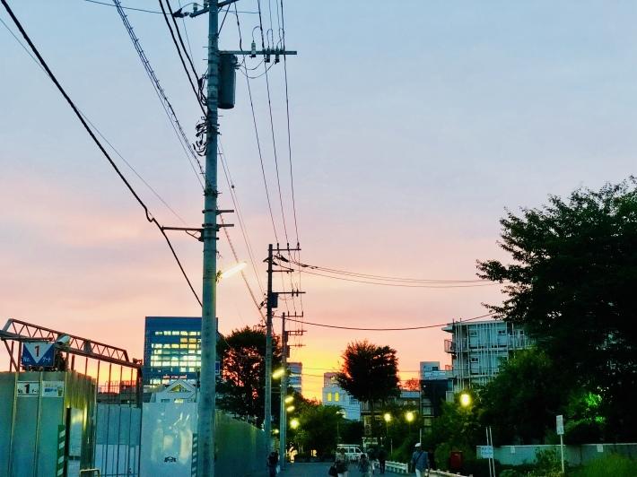 台風前の夕焼けin東京表参道_a0103940_21085895.jpeg