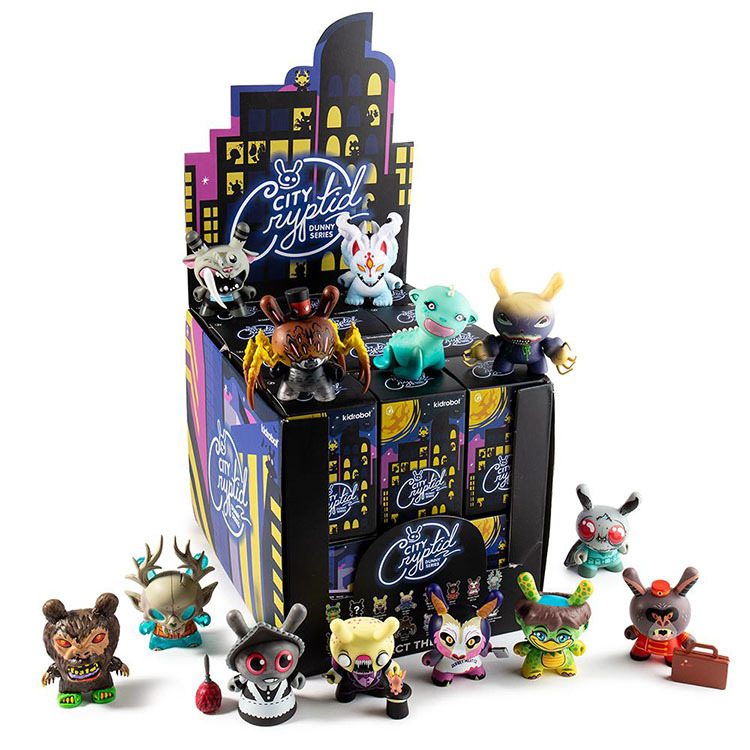 "City Cryptid Dunny 3"" Mini Art Figure Series_e0118156_09565535.jpg"