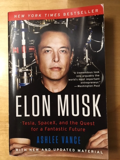 来週の通勤読書ーElon Musk_e0350971_12240530.jpg