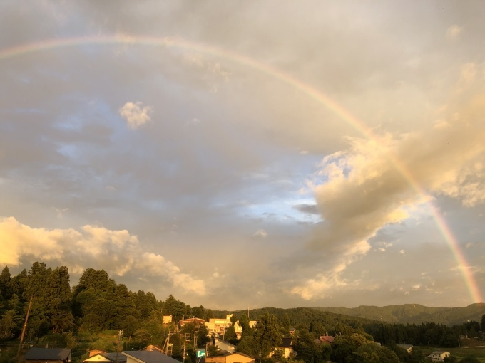 虹と夕焼け_d0182179_20111779.jpg
