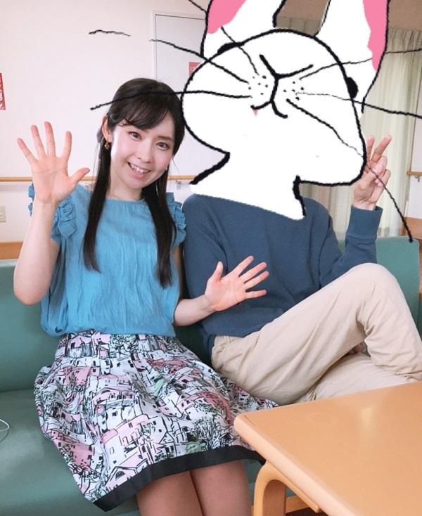 うさぎパパさんとツーショット写真♡_d0039189_19375474.jpg