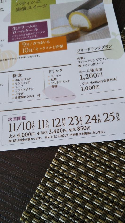 川崎日航ホテル 夜間飛行 トロピカルスイーツブッフェ_f0076001_23272332.jpg