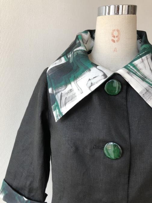 残り布でショートジャケットをお仕立てしました!_d0127925_12174634.jpg
