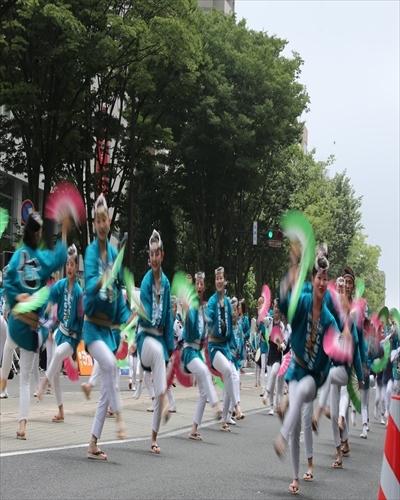 仙台市 夏祭り 「スズメ踊り」 _d0106628_18523249.jpg