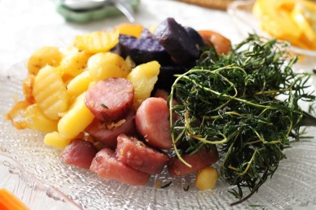 うちの野菜でマリネいっぱい_d0377645_22110470.jpg