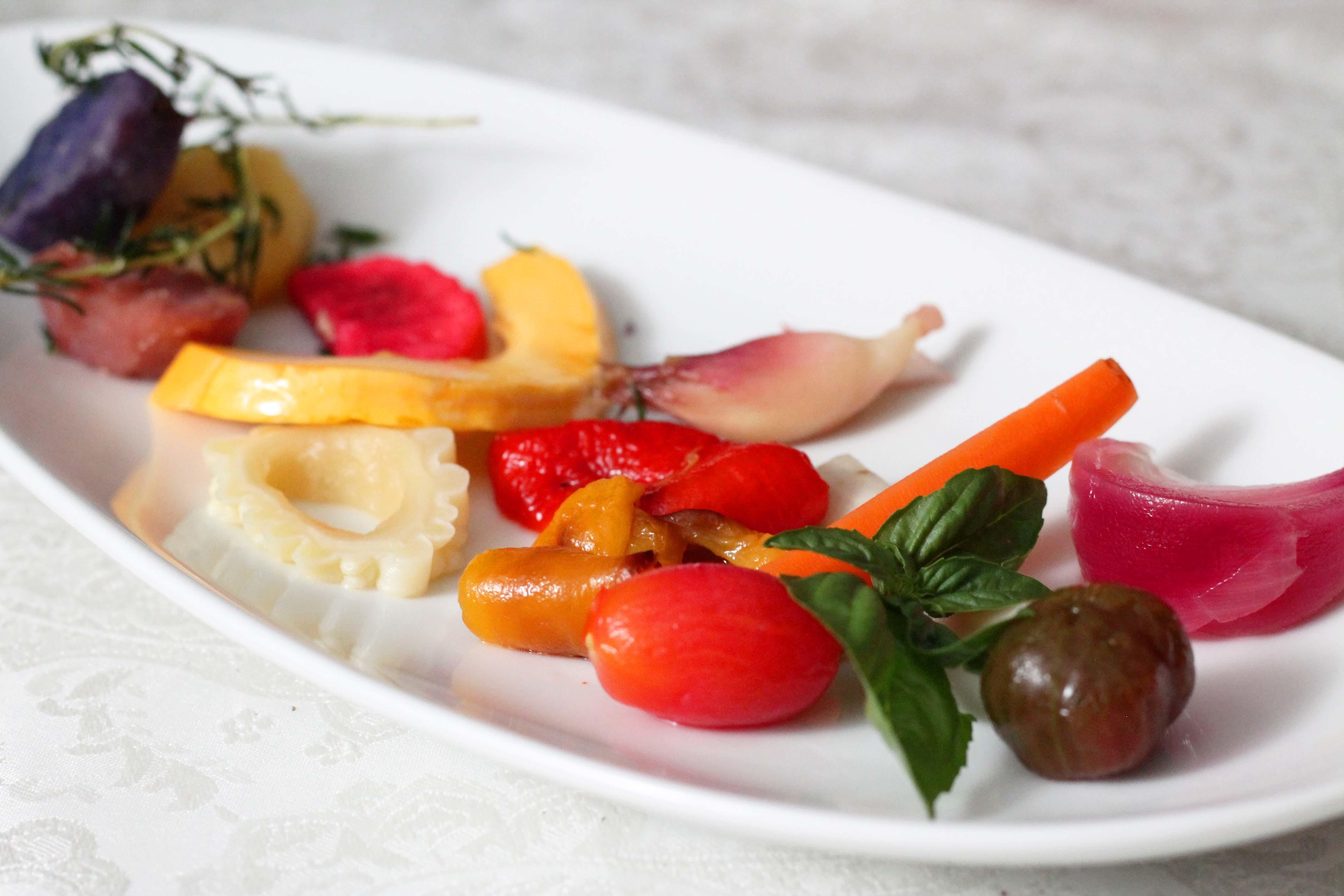 うちの野菜でマリネいっぱい_d0377645_22112936.jpg