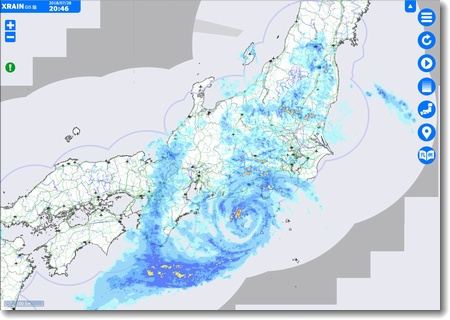 異例の台風一過_c0147448_2172665.jpg