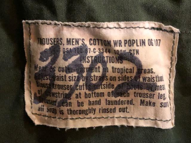 8月1日(水)大阪店、ヴィンテージ入荷日!!#1 U.S.Military Part1編! 幻のM-1941ParatrooperJumpPants!!_c0078587_1938260.jpg