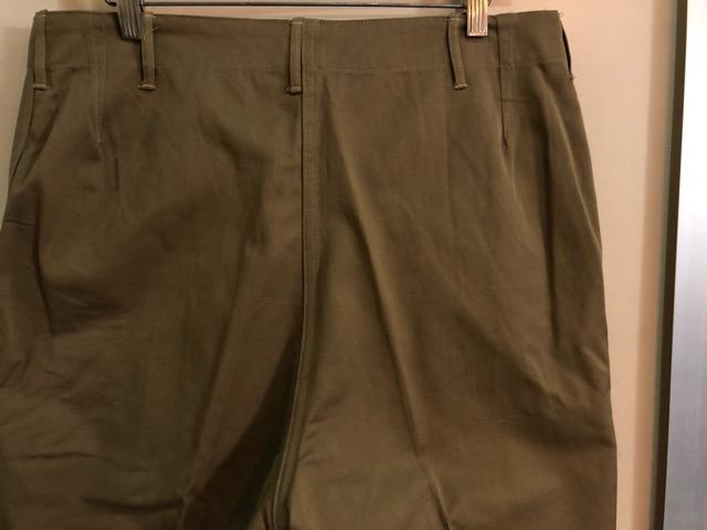 8月1日(水)大阪店ヴィンテージ入荷日!!#2 U.S.Military Part2編!NOS 40\'s USMC W.StitchChino&M-43 HBT FieldTrousers!!_c0078587_2210183.jpg