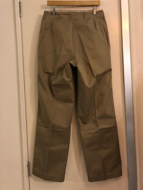 8月1日(水)大阪店ヴィンテージ入荷日!!#2 U.S.Military Part2編!NOS 40\'s USMC W.StitchChino&M-43 HBT FieldTrousers!!_c0078587_22104939.jpg
