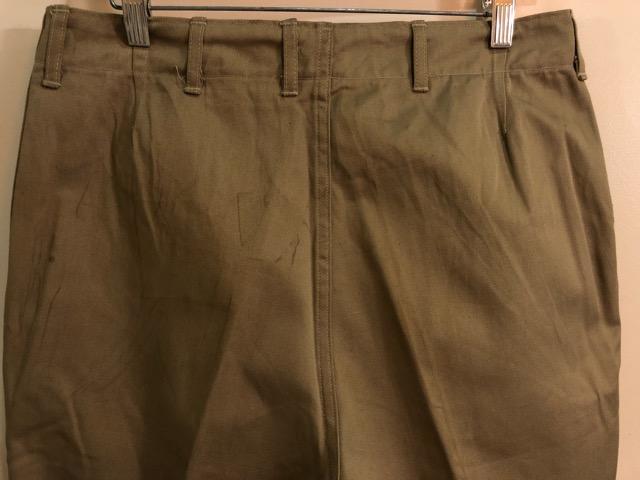 8月1日(水)大阪店ヴィンテージ入荷日!!#2 U.S.Military Part2編!NOS 40\'s USMC W.StitchChino&M-43 HBT FieldTrousers!!_c0078587_2211979.jpg