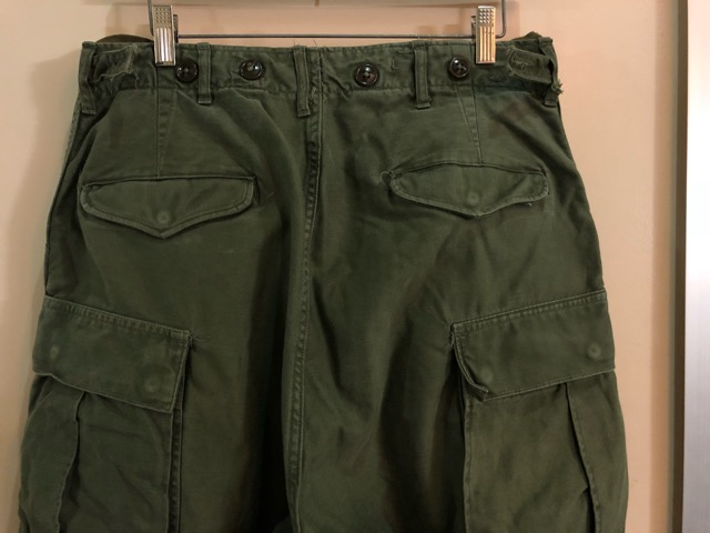 8月1日(水)大阪店ヴィンテージ入荷日!!#2 U.S.Military Part2編!NOS 40\'s USMC W.StitchChino&M-43 HBT FieldTrousers!!_c0078587_22122526.jpg
