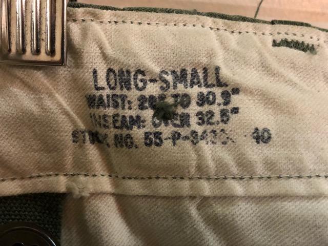 8月1日(水)大阪店ヴィンテージ入荷日!!#2 U.S.Military Part2編!NOS 40\'s USMC W.StitchChino&M-43 HBT FieldTrousers!!_c0078587_2212450.jpg