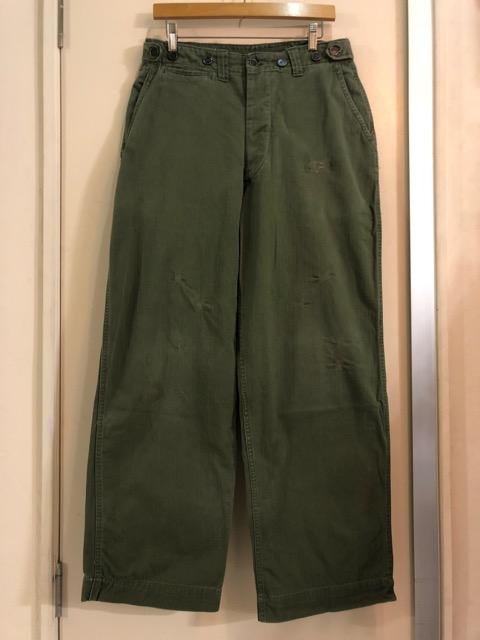 8月1日(水)大阪店ヴィンテージ入荷日!!#2 U.S.Military Part2編!NOS 40\'s USMC W.StitchChino&M-43 HBT FieldTrousers!!_c0078587_2252156.jpg