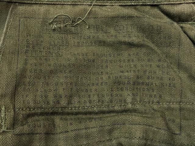 8月1日(水)大阪店ヴィンテージ入荷日!!#2 U.S.Military Part2編!NOS 40\'s USMC W.StitchChino&M-43 HBT FieldTrousers!!_c0078587_22521816.jpg