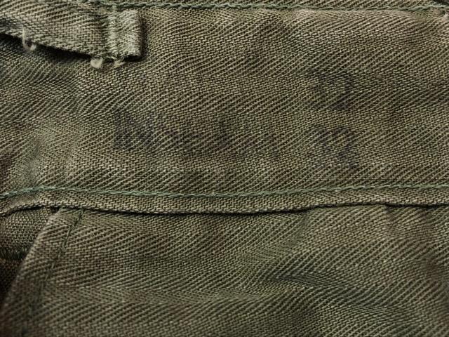 8月1日(水)大阪店ヴィンテージ入荷日!!#2 U.S.Military Part2編!NOS 40\'s USMC W.StitchChino&M-43 HBT FieldTrousers!!_c0078587_22542262.jpg