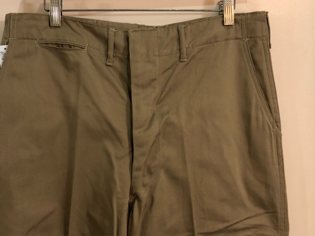 8月1日(水)大阪店ヴィンテージ入荷日!!#2 U.S.Military Part2編!NOS 40\'s USMC W.StitchChino&M-43 HBT FieldTrousers!!_c0078587_2255585.jpg