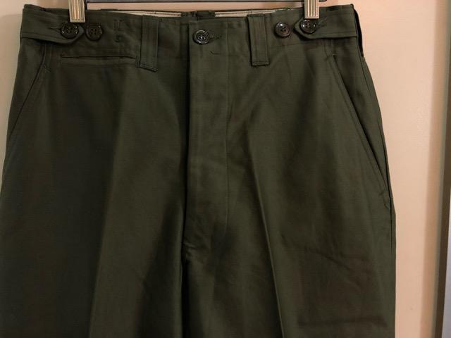 8月1日(水)大阪店ヴィンテージ入荷日!!#2 U.S.Military Part2編!NOS 40\'s USMC W.StitchChino&M-43 HBT FieldTrousers!!_c0078587_2256517.jpg