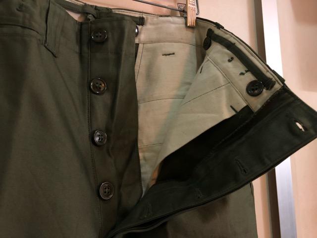 8月1日(水)大阪店ヴィンテージ入荷日!!#2 U.S.Military Part2編!NOS 40\'s USMC W.StitchChino&M-43 HBT FieldTrousers!!_c0078587_22571034.jpg