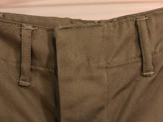 8月1日(水)大阪店ヴィンテージ入荷日!!#2 U.S.Military Part2編!NOS 40\'s USMC W.StitchChino&M-43 HBT FieldTrousers!!_c0078587_2272054.jpg