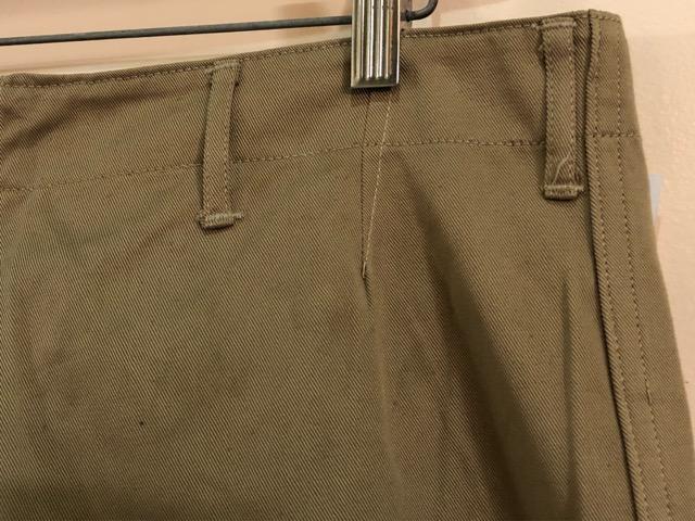 8月1日(水)大阪店ヴィンテージ入荷日!!#2 U.S.Military Part2編!NOS 40\'s USMC W.StitchChino&M-43 HBT FieldTrousers!!_c0078587_2274245.jpg