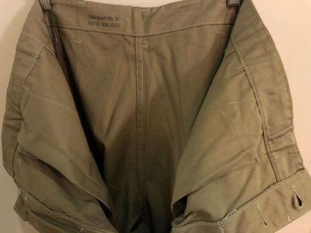 8月1日(水)大阪店ヴィンテージ入荷日!!#2 U.S.Military Part2編!NOS 40\'s USMC W.StitchChino&M-43 HBT FieldTrousers!!_c0078587_227837.jpg