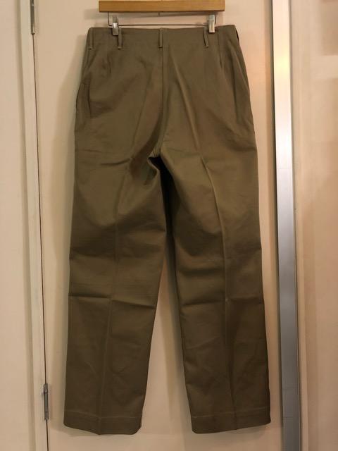 8月1日(水)大阪店ヴィンテージ入荷日!!#2 U.S.Military Part2編!NOS 40\'s USMC W.StitchChino&M-43 HBT FieldTrousers!!_c0078587_2295363.jpg